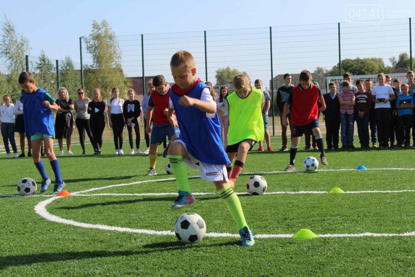 У Новограді відкрили  міні-футбольне поле зі штучним покриттям (ФОТО, ВІДЕО), фото-4