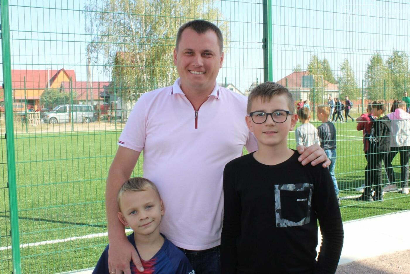 У Новограді відкрили  міні-футбольне поле зі штучним покриттям (ФОТО, ВІДЕО), фото-9