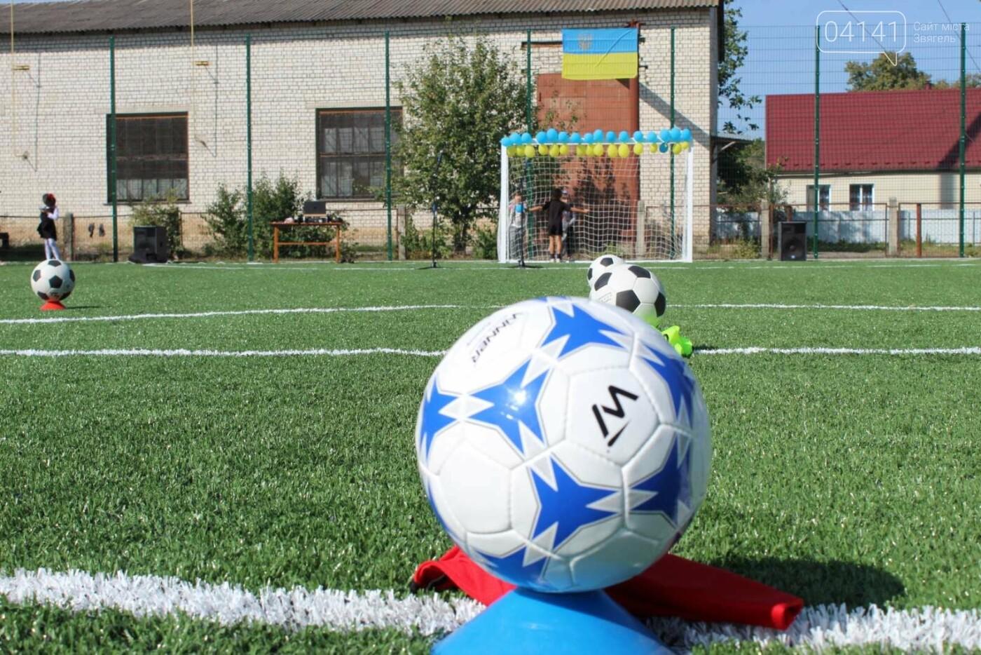 У Новограді відкрили  міні-футбольне поле зі штучним покриттям (ФОТО, ВІДЕО), фото-5