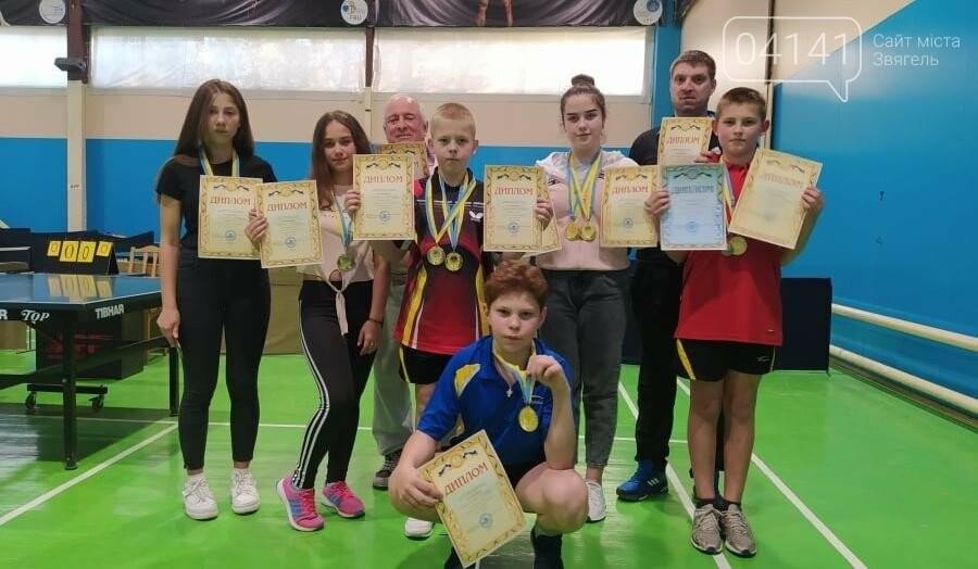 Новоград-волинці стали чемпіонами Житомирської області з настільного тенісу, фото-1