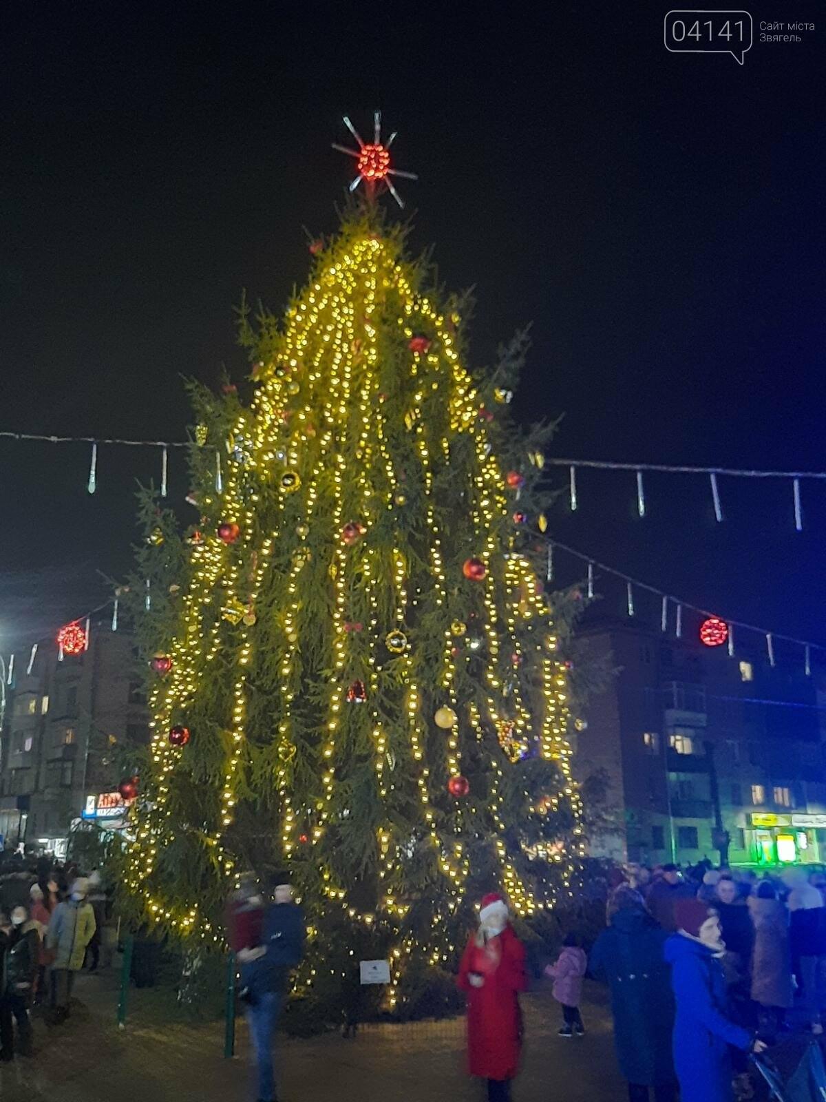 У Новограді-Волинському відкрили головну ялинку: Відео, фото як це було, фото-8