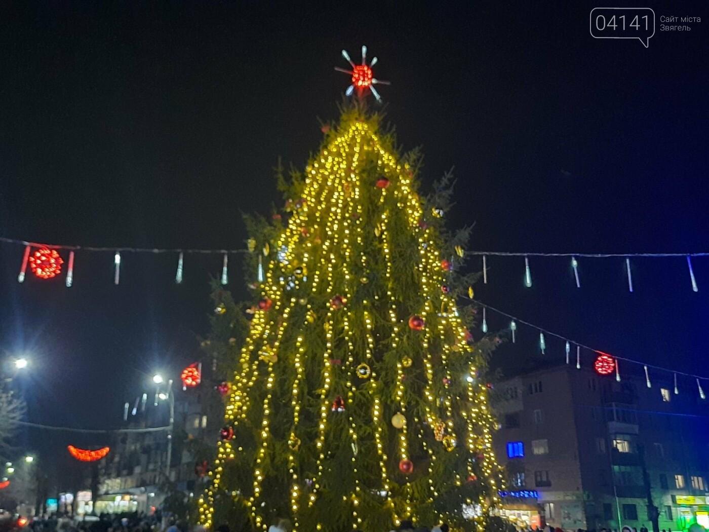 У Новограді-Волинському відкрили головну ялинку: Відео, фото як це було, фото-7