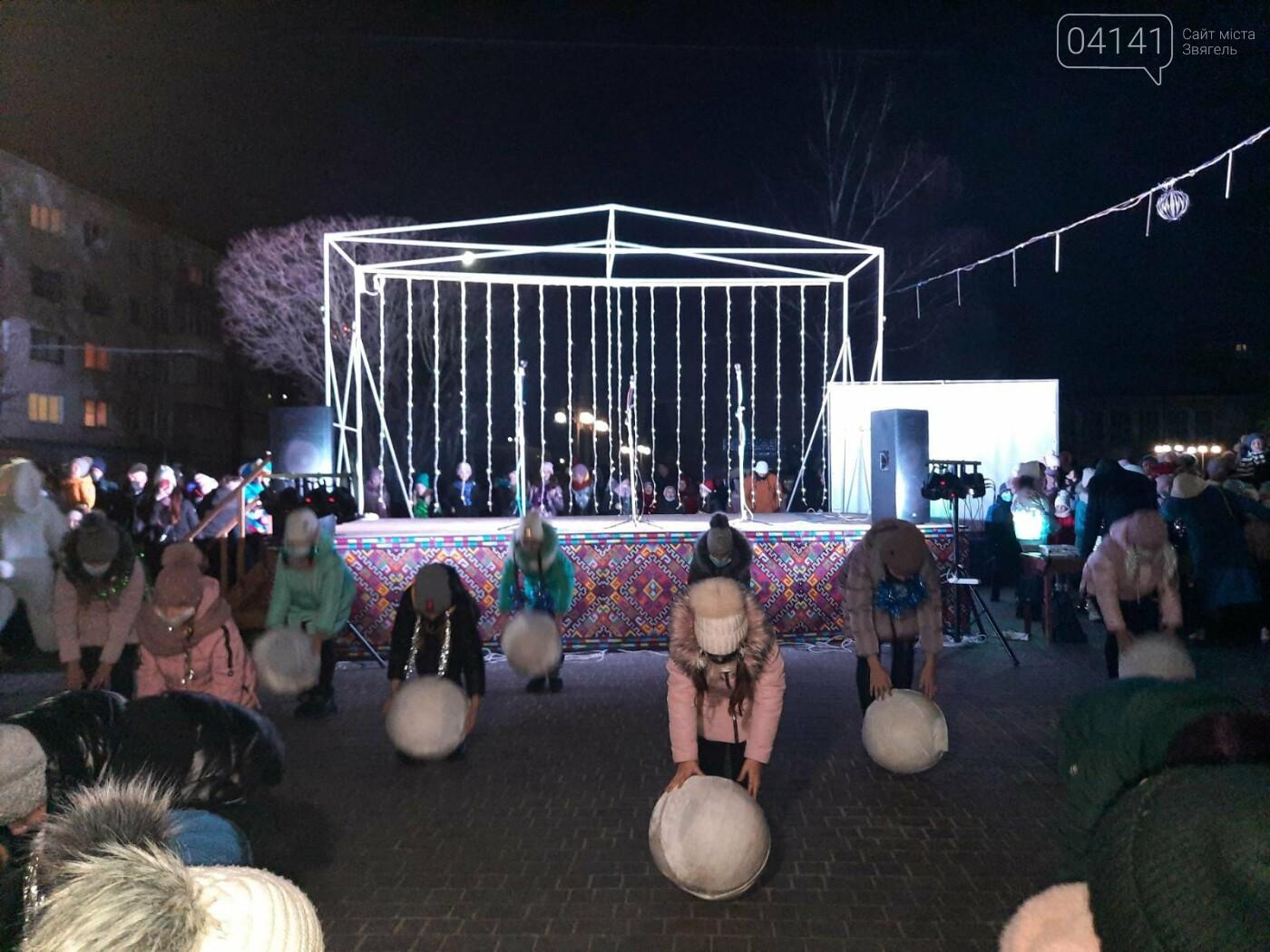 У Новограді-Волинському відкрили головну ялинку: Відео, фото як це було, фото-11