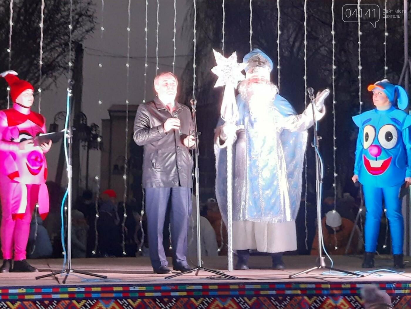 У Новограді-Волинському відкрили головну ялинку: Відео, фото як це було, фото-3