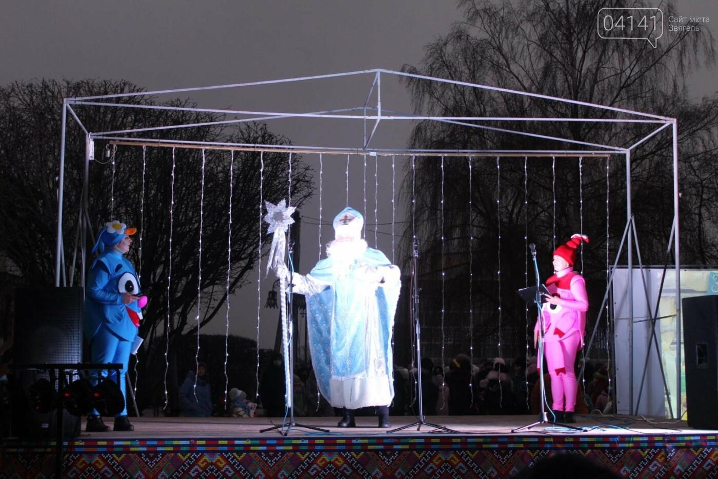 У Новограді-Волинському відкрили головну ялинку: Відео, фото як це було, фото-2