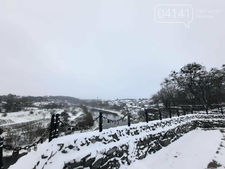 Новоград дочекався зими: Як виглядає засніжене місто  , фото-7