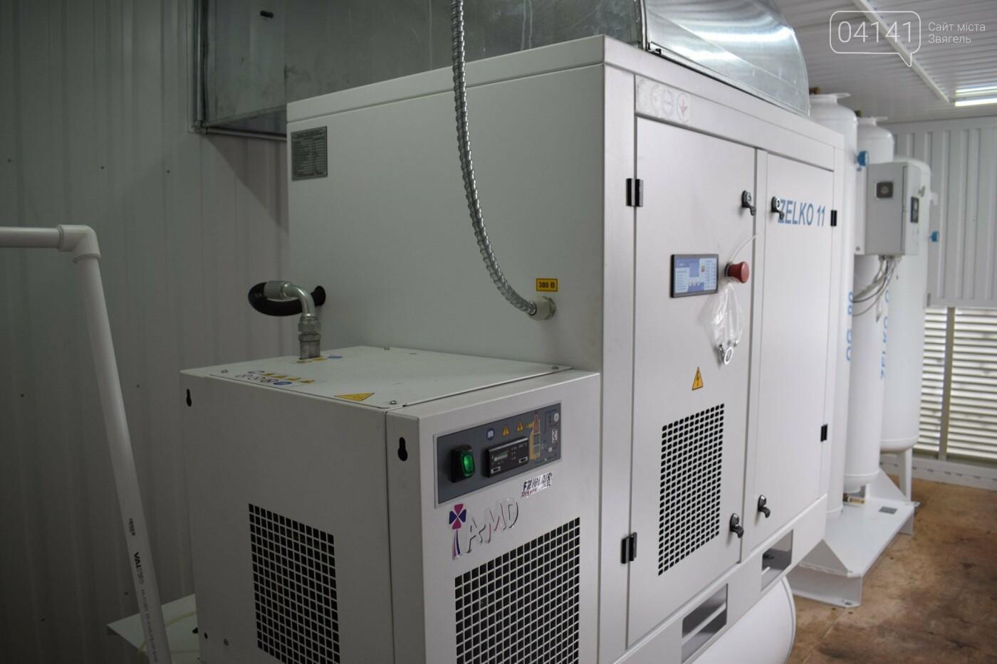 У Новограді-Волинському запрацювала нова киснева станція, фото-3