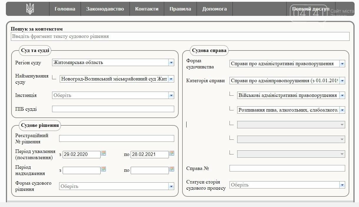 Проблема з пиятикою в новоградських армійців є: Скільки справ суд розглянув за рік?, фото-1