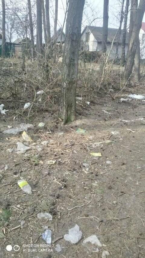 """Не новоград-волинці, а справжні """"задрипанці"""": на Кривоноса захарастили сміттям ліс, фото-5"""