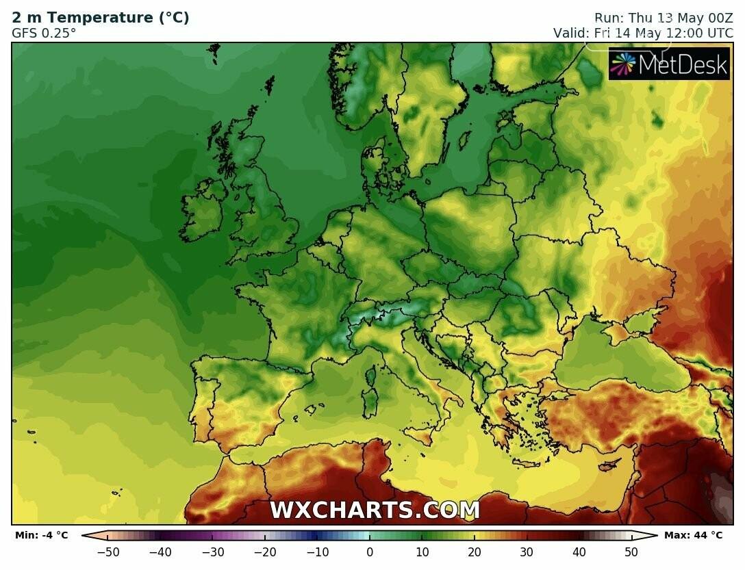 Прогноз погоди на завтра від синоптика Наталки Діденко, фото-1