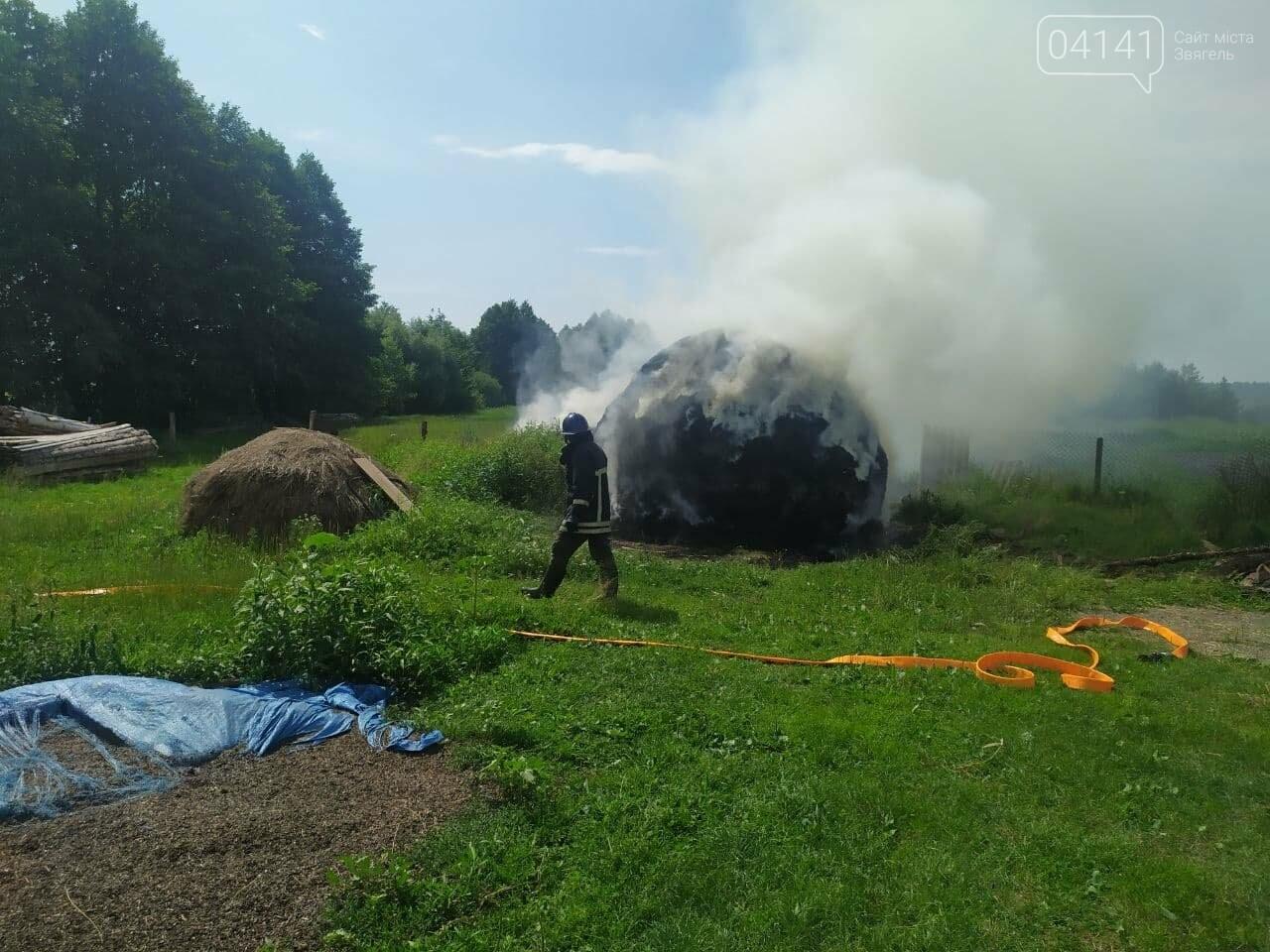 На Новоград-Волинщині внаслідок дитячих пустощів сталася пожежа, фото-2