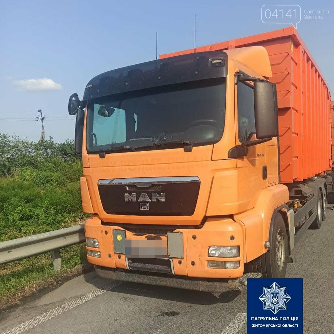 На трасі Київ-Чоп зупинили вантажівки, що перевозили деревину без документів, фото-2