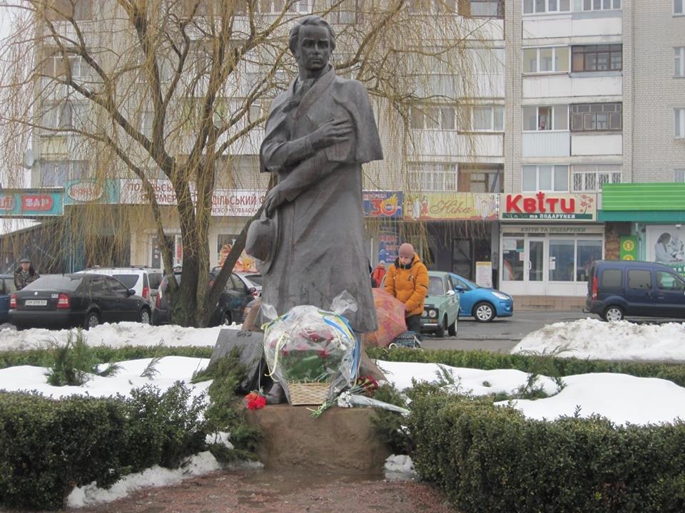 У Новограді-Волинському відзначили 204-ту річницю від дня народження Тараса Шевченка, фото-1