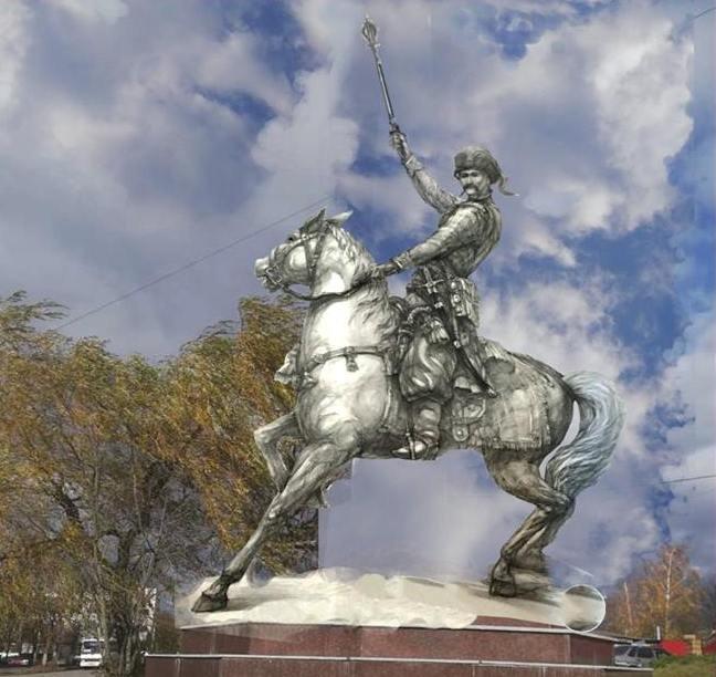 У Новограді-Волинському погодили проект пам'ятника полковнику Звягельського полку Михайлу Тиші, фото-1