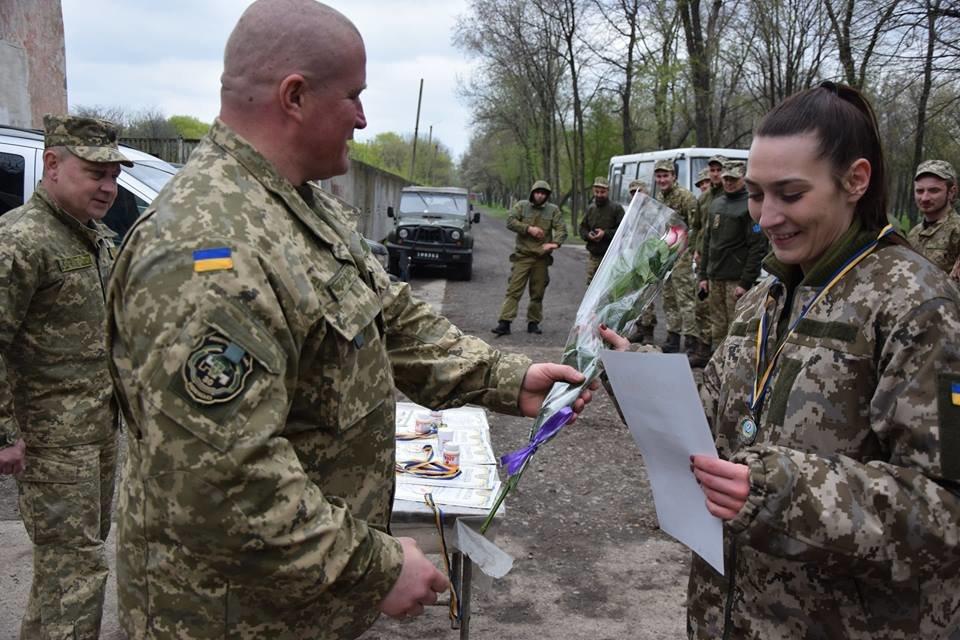 У 30-ій бригаді з Новограда-Волинського відбулися змагання з легкоатлетичного кросу, фото-7