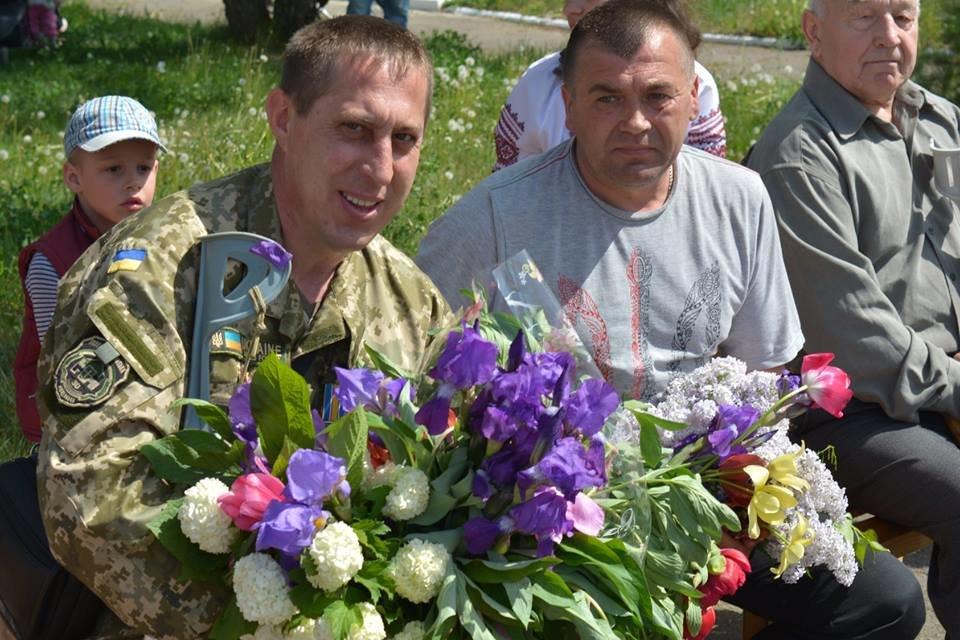Меморіальну дошку Герою АТО відкрили в Орепах Новоград-Волинського району, фото-1