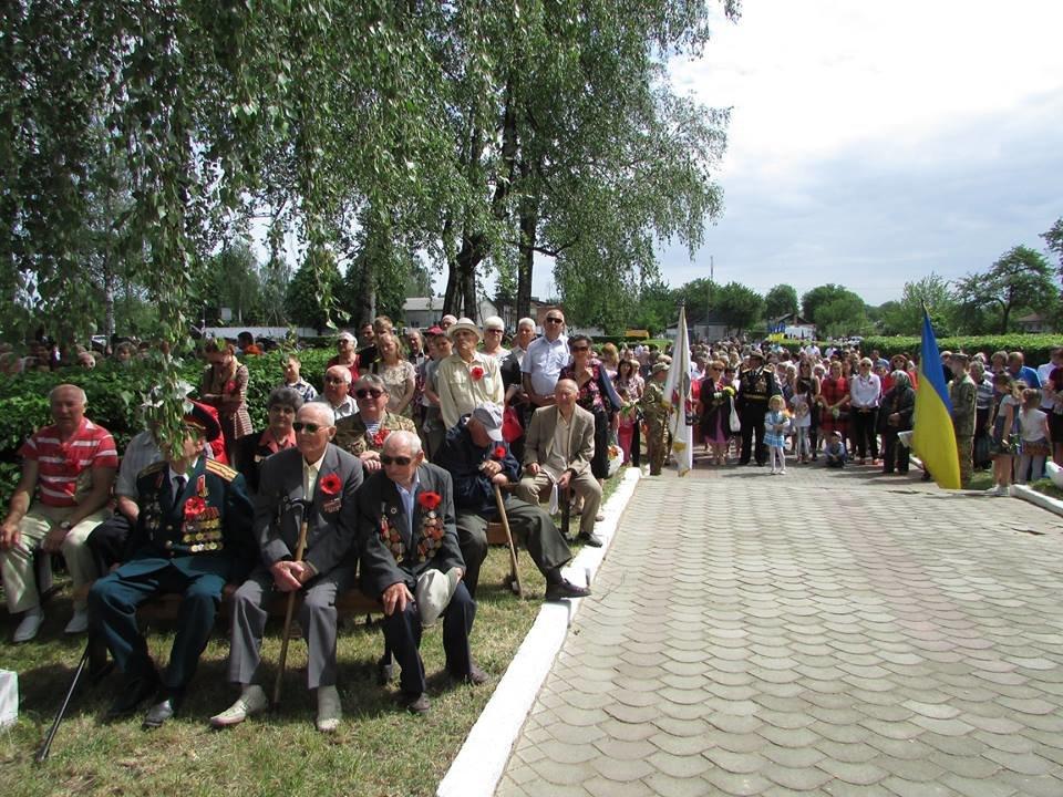 У Новограді-Волинському вшанували пам'ять загиблих у Другій світовій війні, фото-2