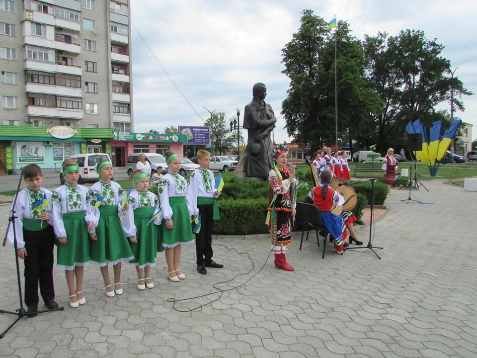 У Новограді-Волинському відзначили 22-у річницю Конституції України, фото-2