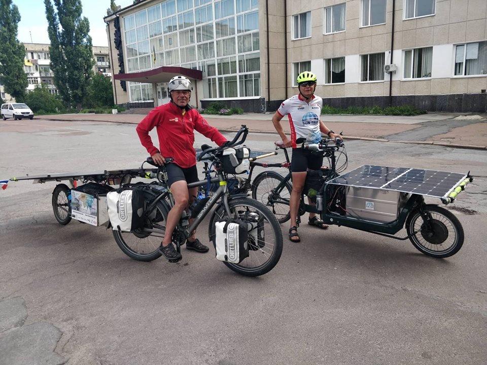 Учасники веломарафону The Sun Trip завітали до Новограда-Волинського, фото-2