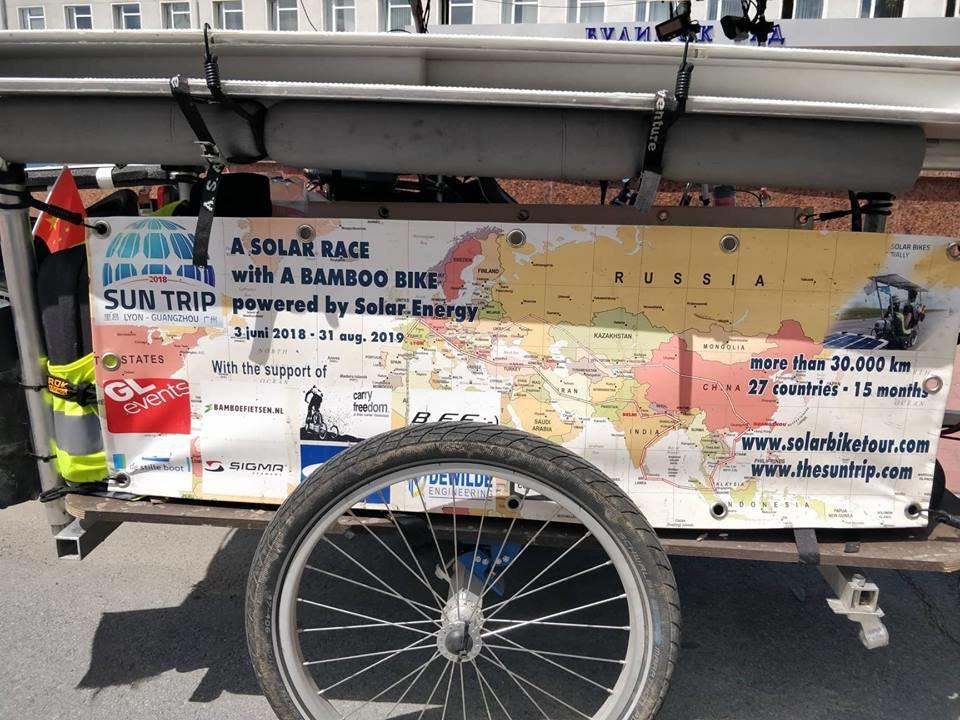 Учасники веломарафону The Sun Trip завітали до Новограда-Волинського, фото-1