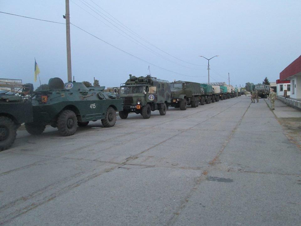 12-й окремий полк оперативного забезпечення з Новограда-Волинського вирушив на найбільші міжнародні військові навчання Rapid Trident-2018, фото-2