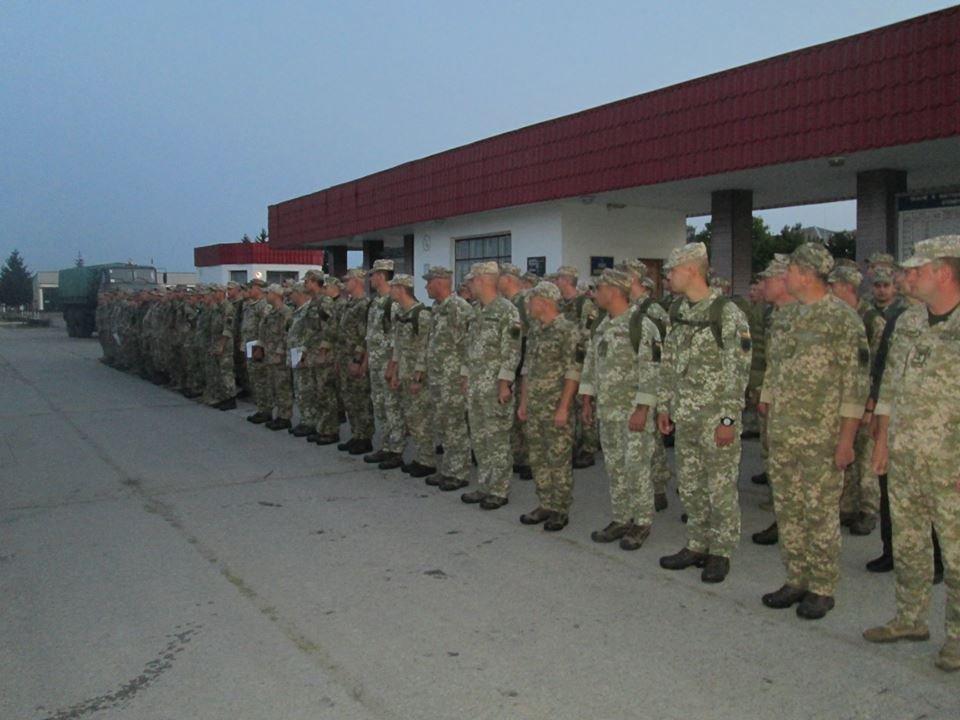 12-й окремий полк оперативного забезпечення з Новограда-Волинського вирушив на найбільші міжнародні військові навчання Rapid Trident-2018, фото-1