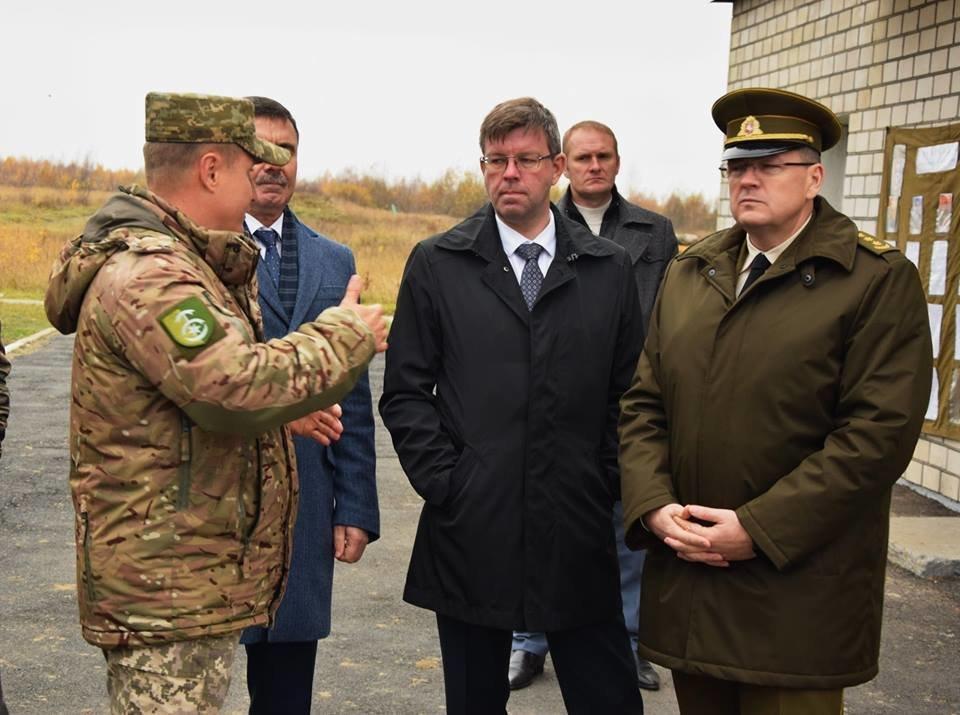 30-ту бригаду відвідали посол та військовий аташе Литовської Республіки, фото-3