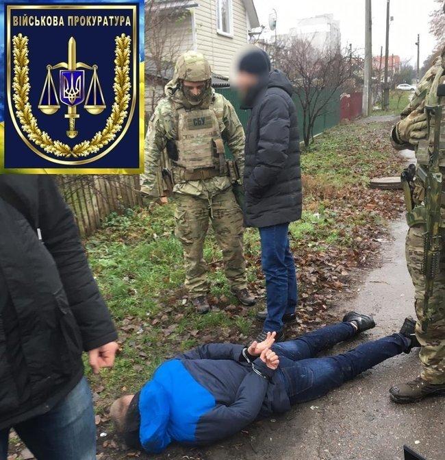 На Житомирщині затримали двох військових: вони продавали вибухівку із зони ООС (ФОТО), фото-1