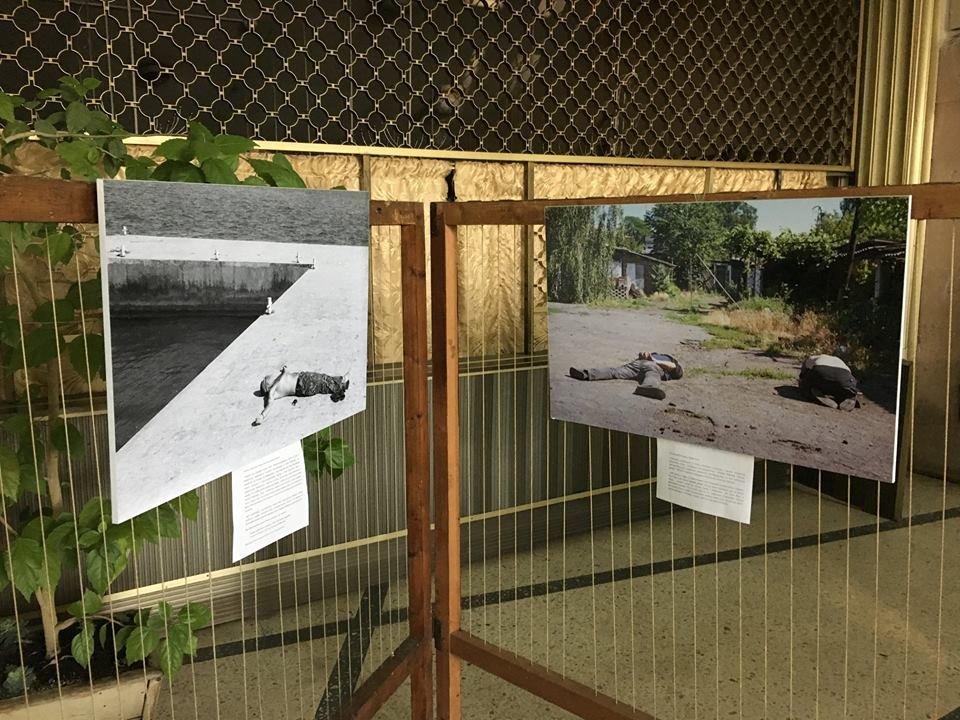 В рамках проекту «Вiйна поруч» у Новограді-Волинському вiдбулось вiдкриття фотовиставки «Лінія фронту», фото-7