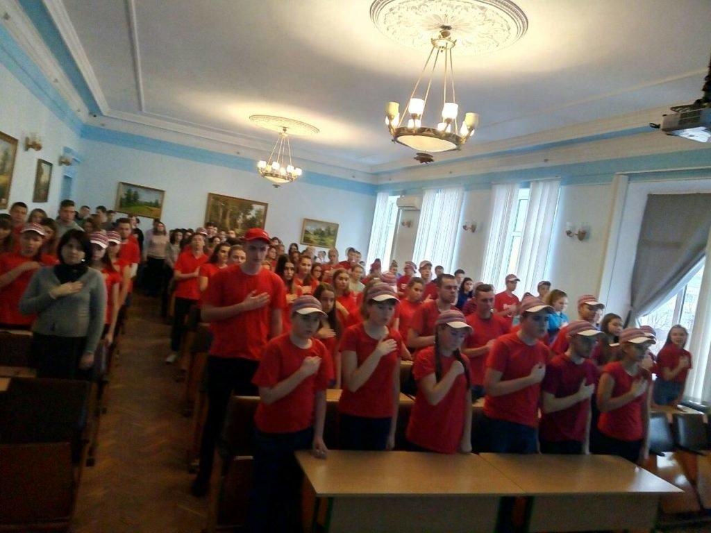 У Новоград-Волинському медичному коледжі відбулася посвята студентів-медиків у волонтери, фото-2