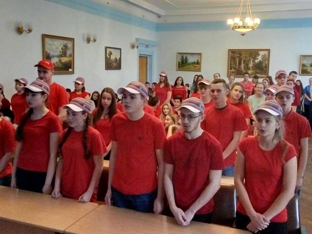У Новоград-Волинському медичному коледжі відбулася посвята студентів-медиків у волонтери, фото-4