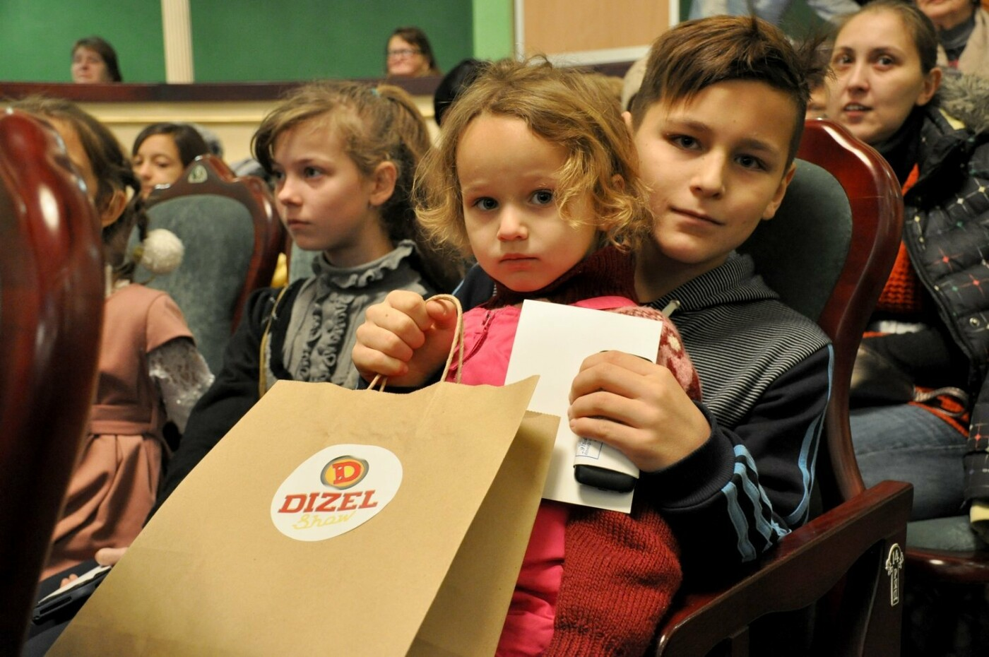 Двогодинне свято для дітей влаштувала команда «Дизель Шоу», фото-3