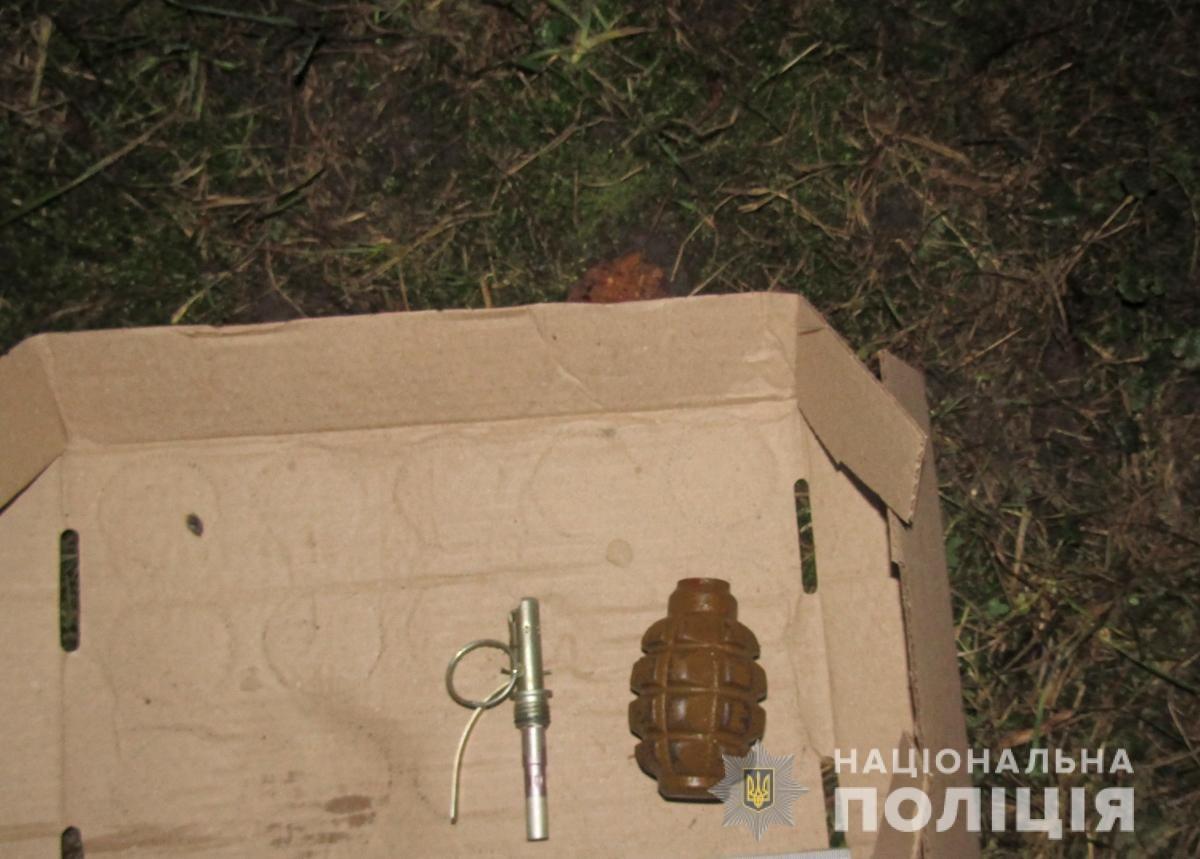 У Новограді-Волинському неповнолітній кинув в поліцейських гранату, фото-1