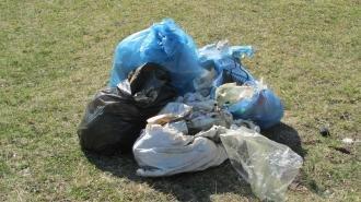 Учні Новоград-Волинського ліцею прибирали берег Случі, фото-2