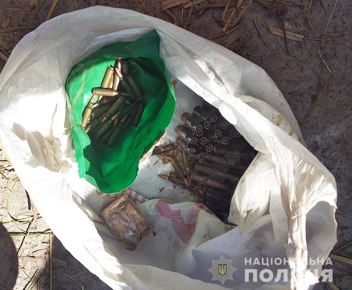 У жителя Новоград-Волинського району поліція вилучила арсенал зброї, фото-1