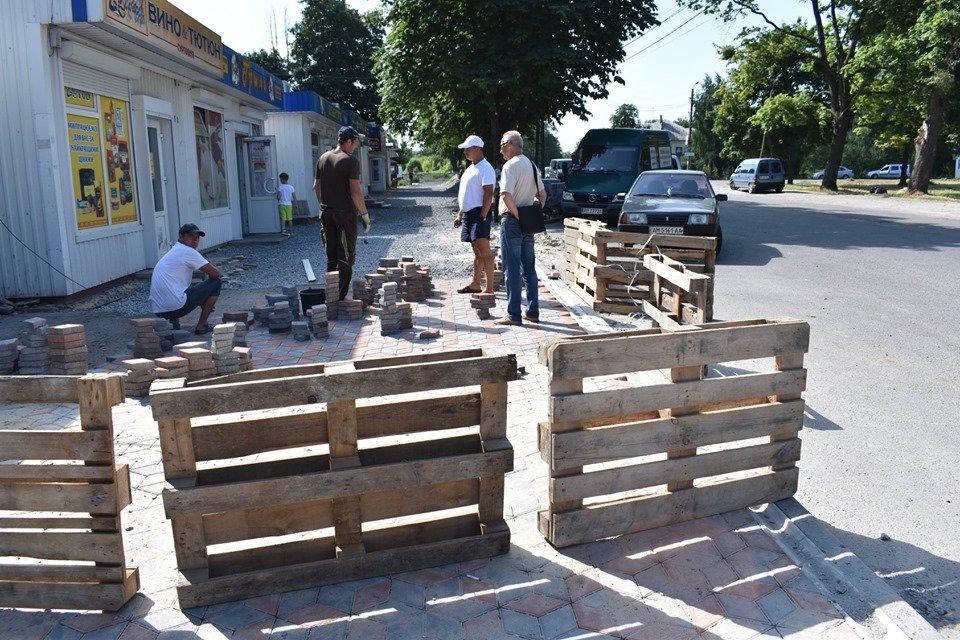 У Новограді-Волинському проводиться капітальний ремонт доріг та тротуарів, фото-1