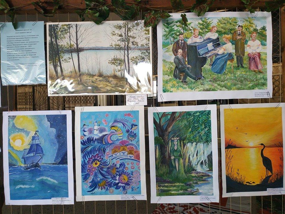 У міському Палаці культури імені Лесі Українки проходить виставка конкурсних малюнків «Палітра Лесиного краю», фото-2