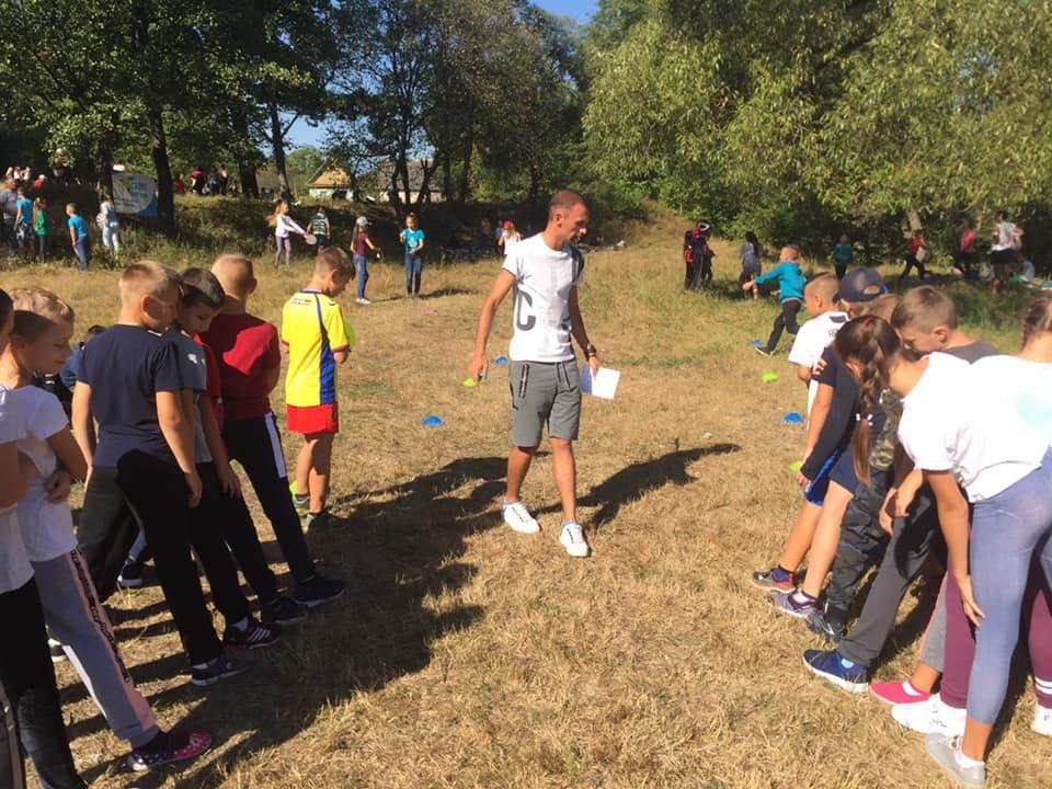 """Як новоградські учні змагалися в """"Олімпійський день"""" на Случі (ФОТО, ВІДЕО) , фото-2"""