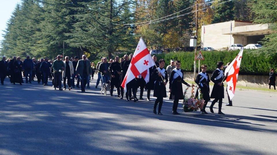 У Грузії поховали знайденого на Новоград-Волинщині грузинського солдата (ФОТО), фото-3