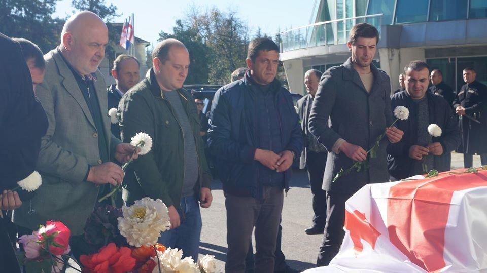 У Грузії поховали знайденого на Новоград-Волинщині грузинського солдата (ФОТО), фото-4