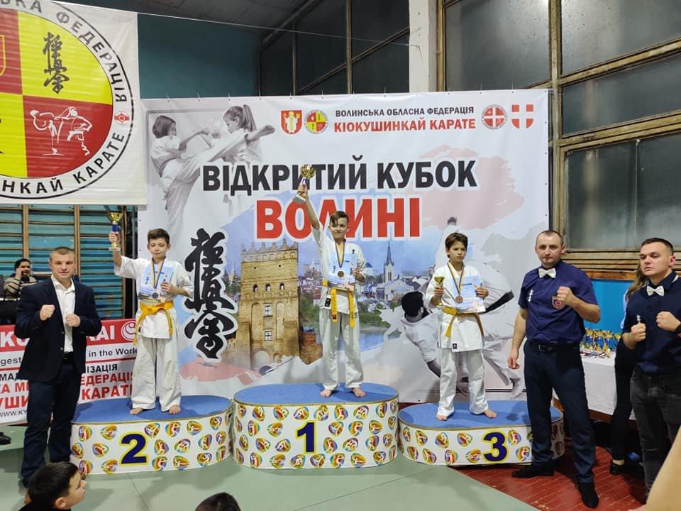 Новоград-волинські каратисти успішно виступили на відкритому кубку Волині, фото-1
