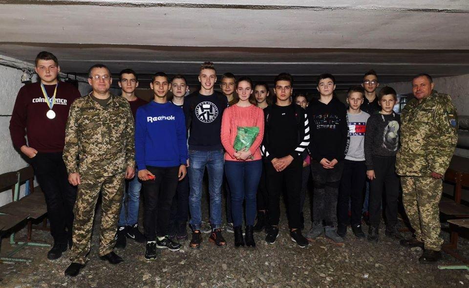 Військові 30-тої бригади імені князя Костянтина Острозького провели «Урок мужності» , фото-1