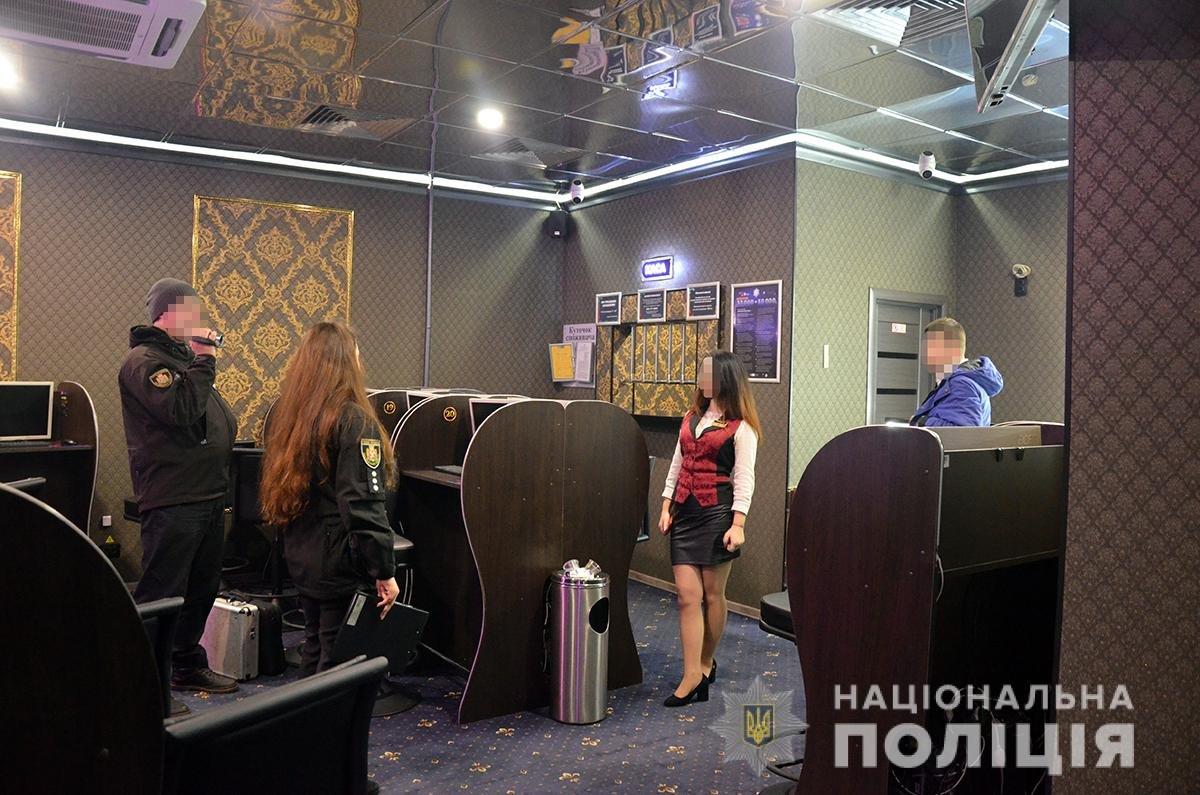 У Новограді-Волинському поліцейські проводять заходи із припинення діяльності гральних закладів, фото-1