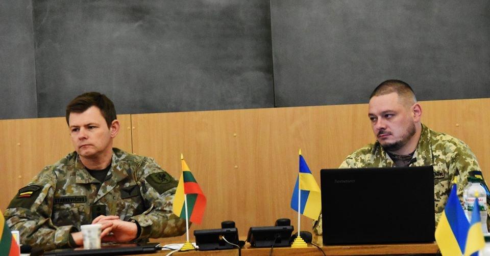 До 30-тої окремої механізованої бригади завітали представники іноземної делегації ЗС Литовської Республіки., фото-7