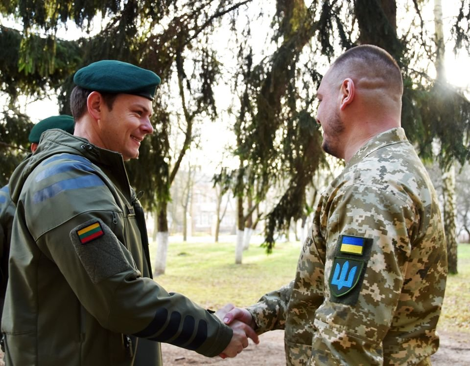 До 30-тої окремої механізованої бригади завітали представники іноземної делегації ЗС Литовської Республіки., фото-1