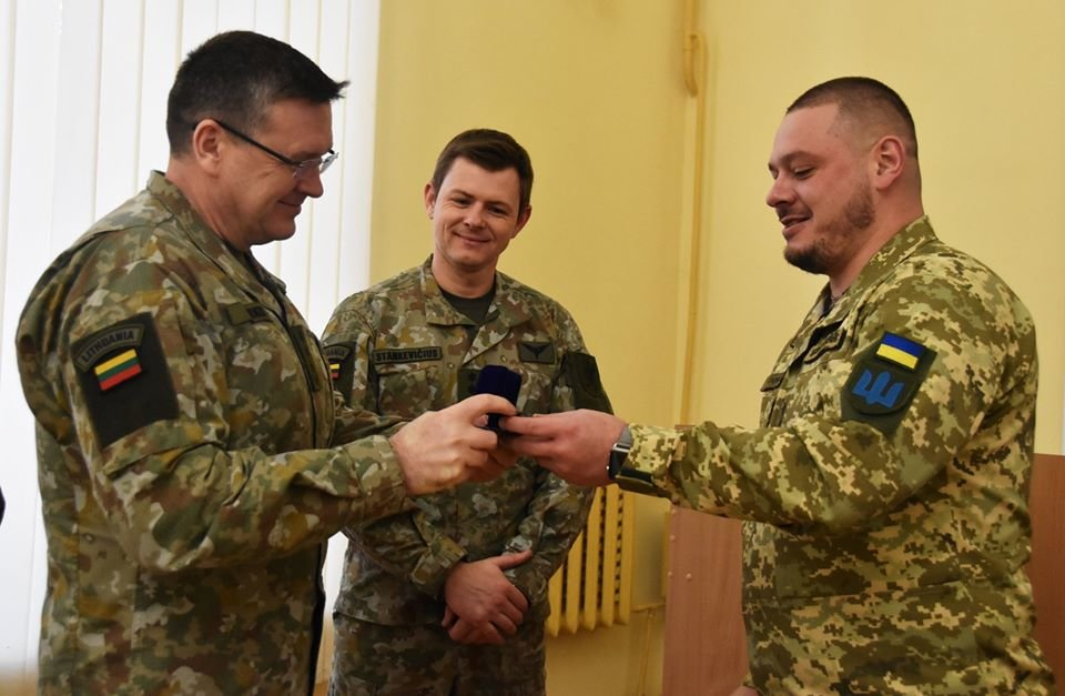 До 30-тої окремої механізованої бригади завітали представники іноземної делегації ЗС Литовської Республіки., фото-2