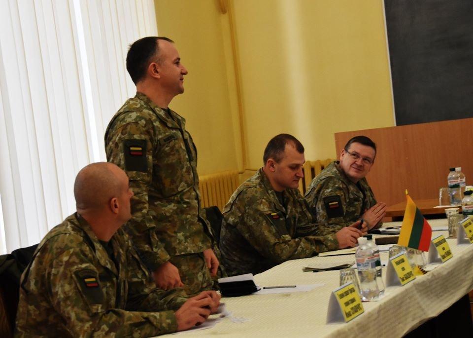 До 30-тої окремої механізованої бригади завітали представники іноземної делегації ЗС Литовської Республіки., фото-5