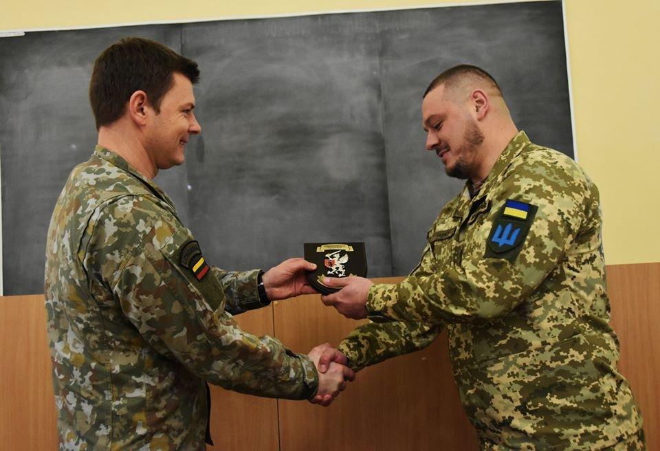 До 30-тої окремої механізованої бригади завітали представники іноземної делегації ЗС Литовської Республіки., фото-3
