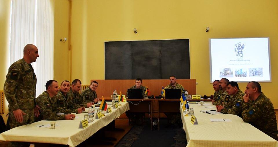 До 30-тої окремої механізованої бригади завітали представники іноземної делегації ЗС Литовської Республіки., фото-4