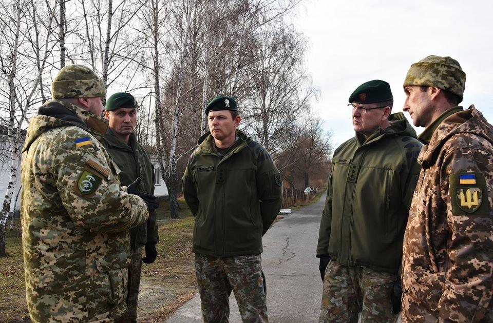 До 30-тої окремої механізованої бригади завітали представники іноземної делегації ЗС Литовської Республіки., фото-6